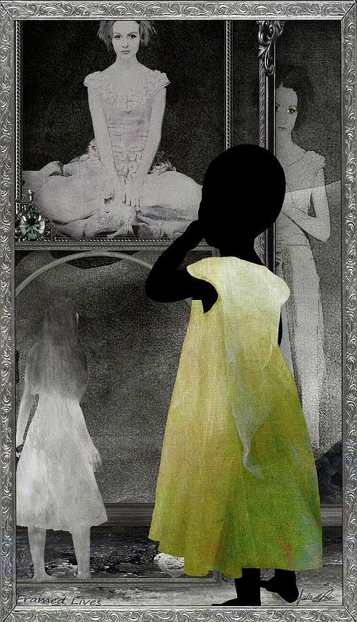 Life Digital Art - Framed Lives by Julie m Rae