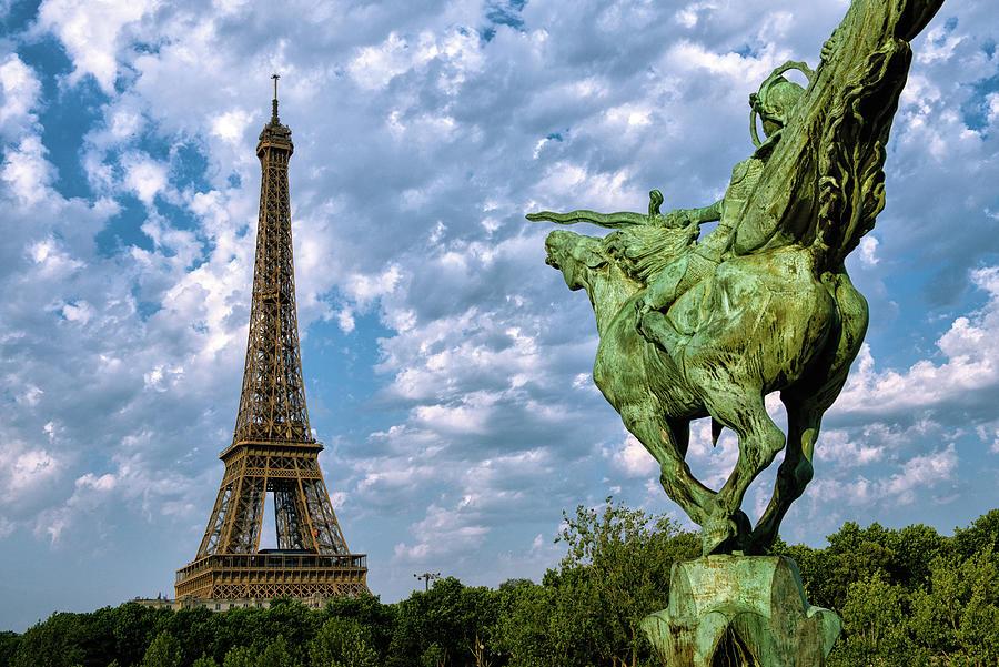 France Reborn - Eiffel Tower - Paris - France Photograph