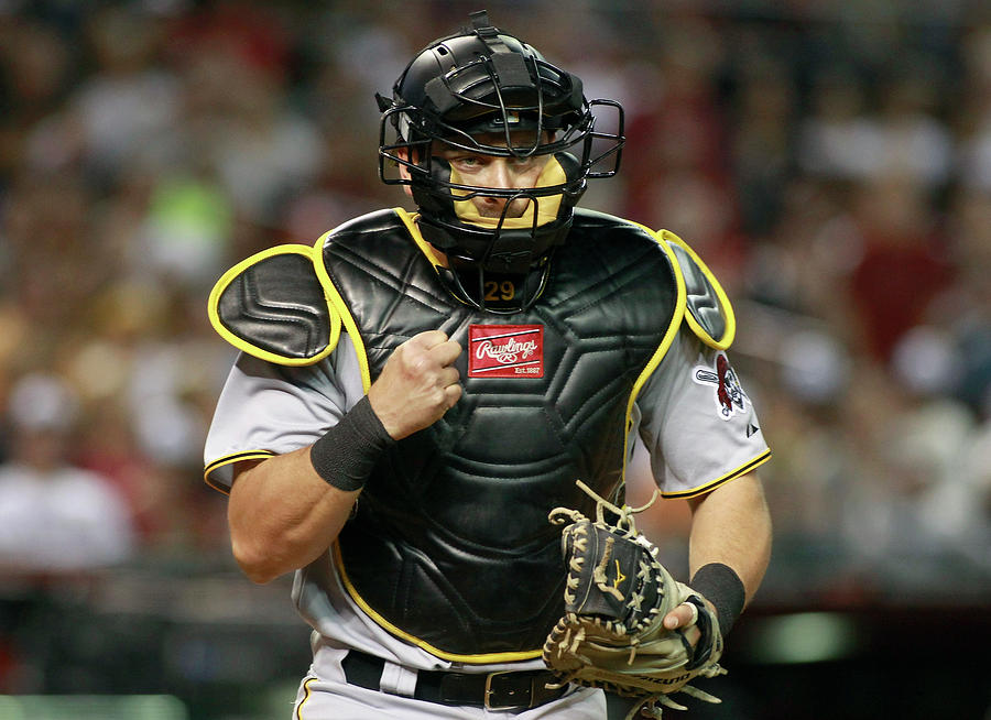 Francisco Cervelli Photograph by Ralph Freso