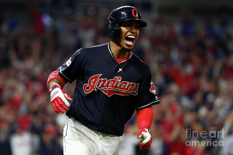 Francisco Lindor Photograph by Gregory Shamus