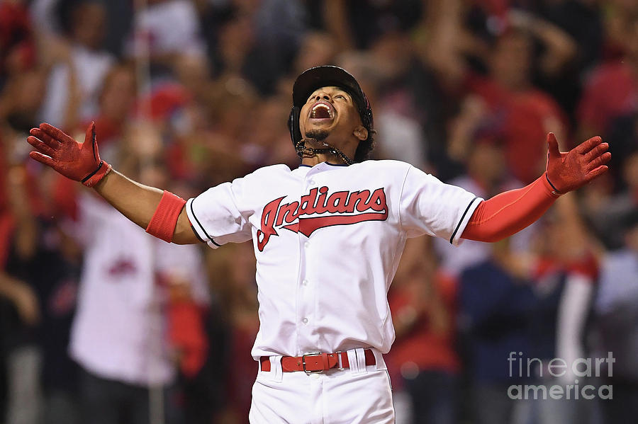 Francisco Lindor Photograph by Jason Miller