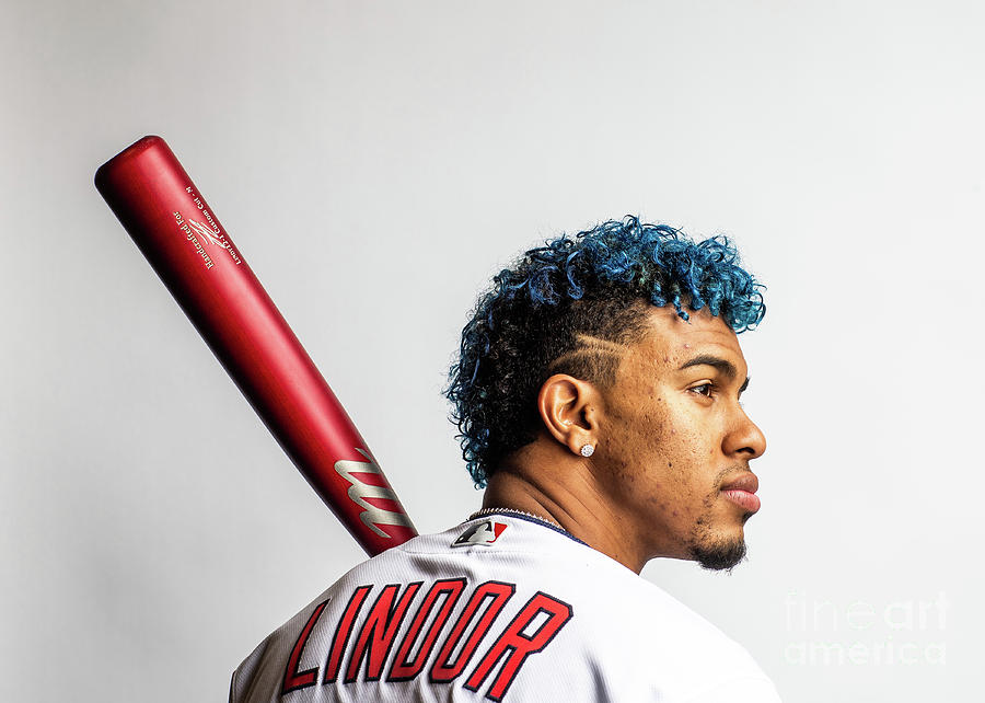 Francisco Lindor Photograph by Rob Tringali