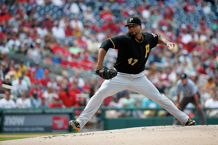 Francisco Liriano Photograph by Rob Carr