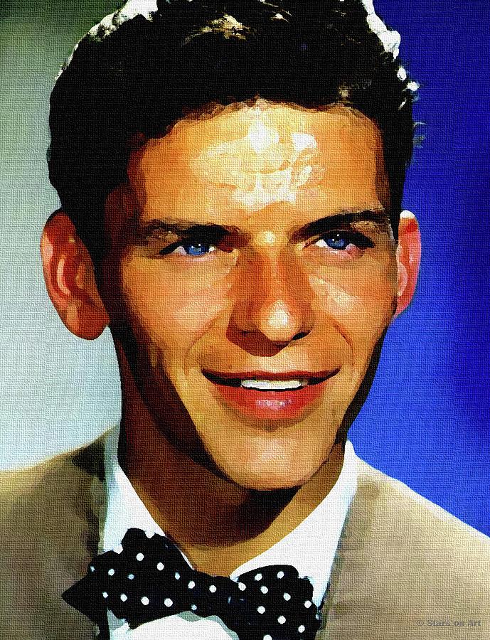 Frank Sinatra 2 Digital Art
