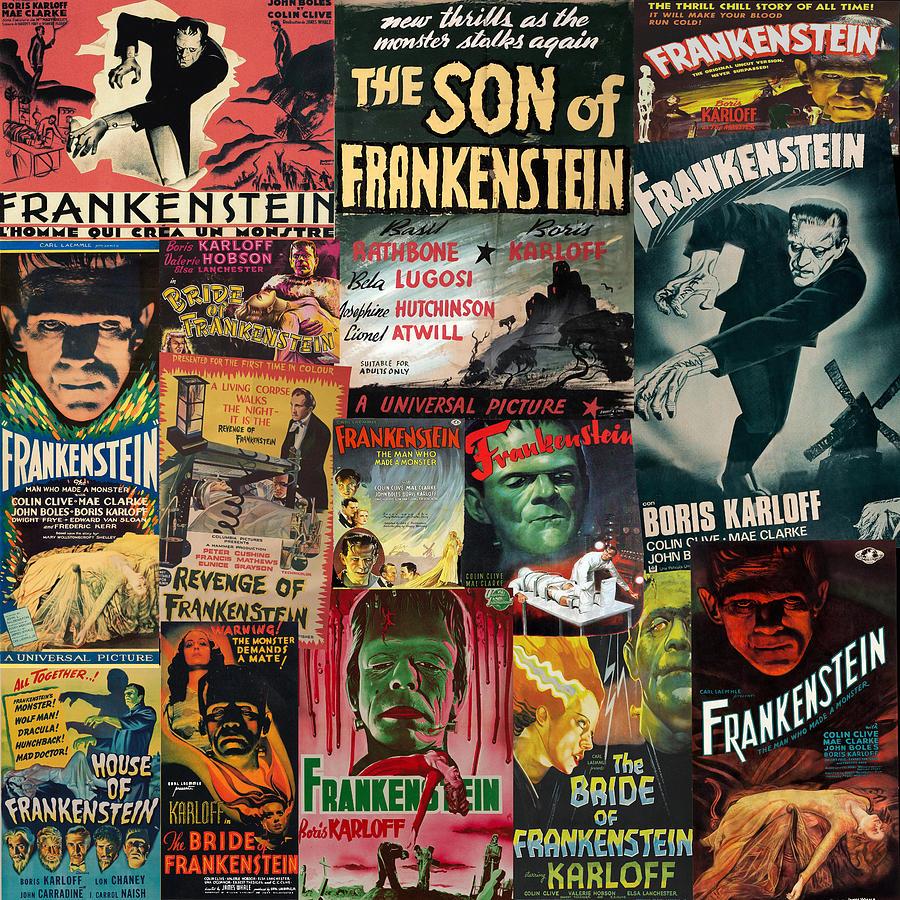 Frankenstein by Andrew Fare