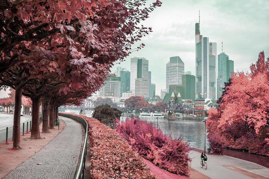 Frankfurt, Germany - Surreal Art By Ahmet Asar Digital Art