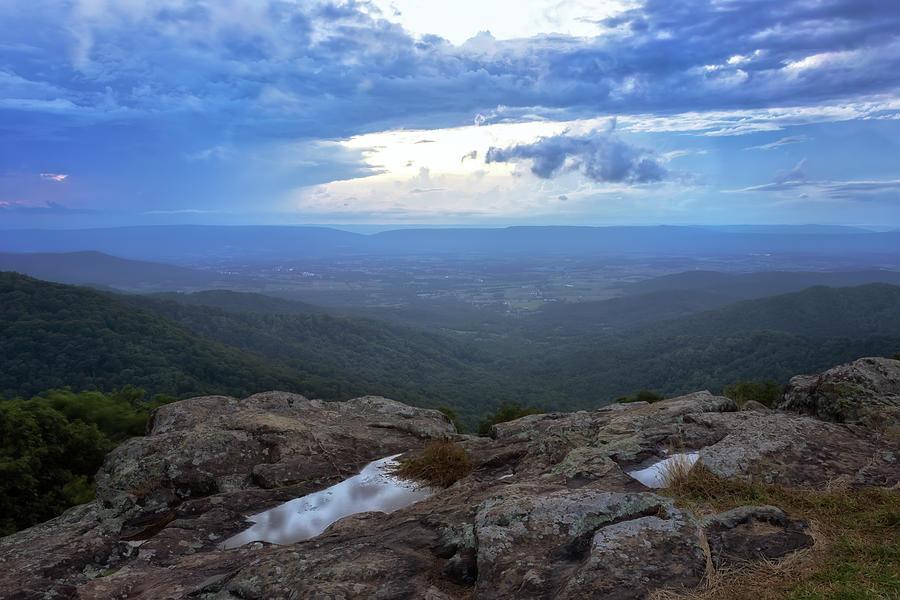 Franklin Cliffs Overlook - Shenandoah National Park Photograph