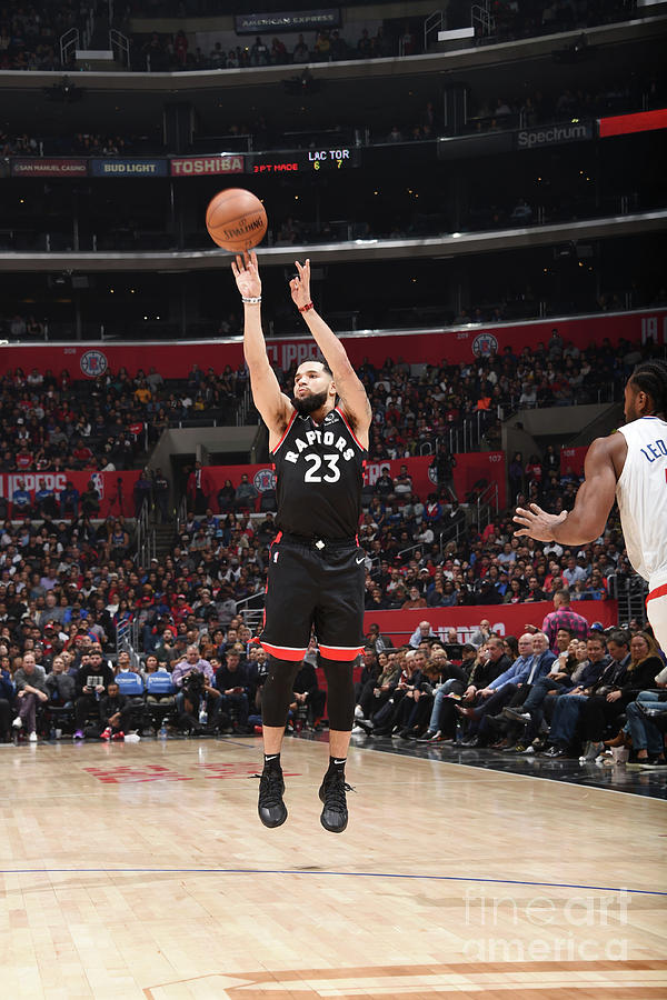 Fred Vanvleet Photograph by Adam Pantozzi