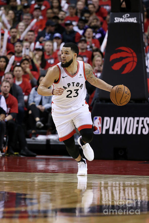 Fred Vanvleet Photograph by David Sherman