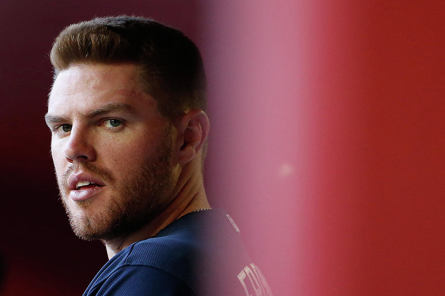 Freddie Freeman Photograph by Christian Petersen