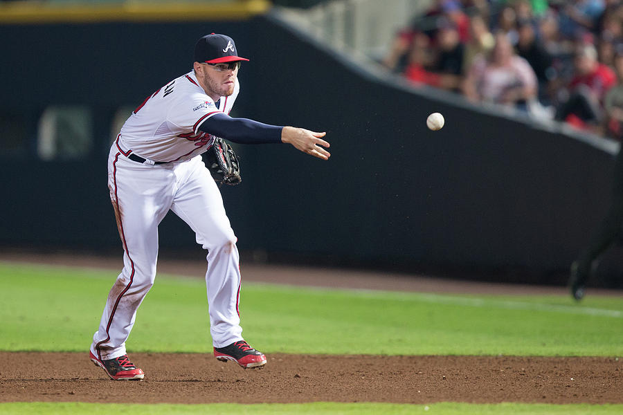 Freddie Freeman Photograph by Mike Zarrilli