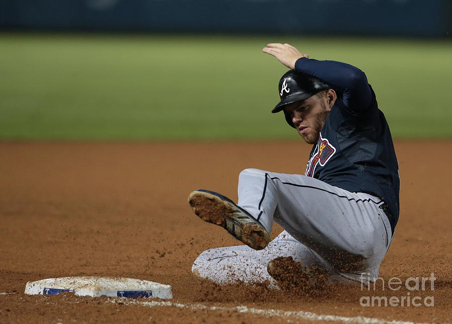 Freddie Freeman Photograph by Rick Yeatts