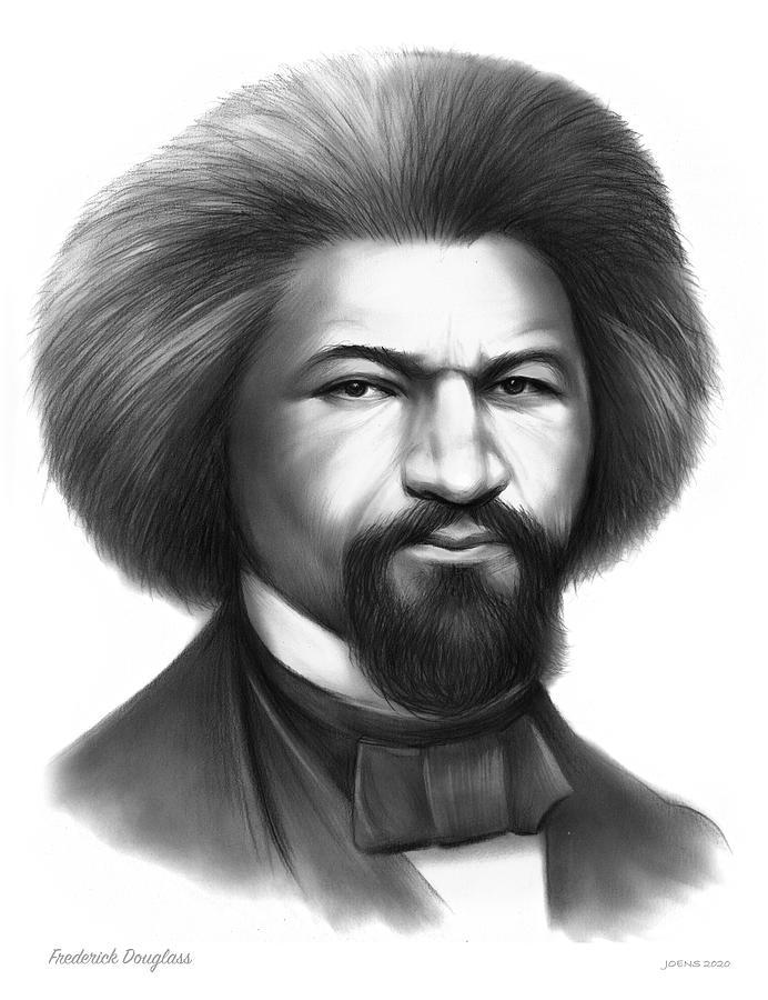 Frederick Douglass Drawing