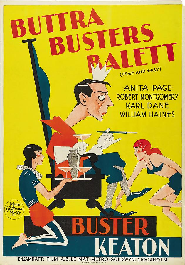 free And Easy, 1930 Mixed Media