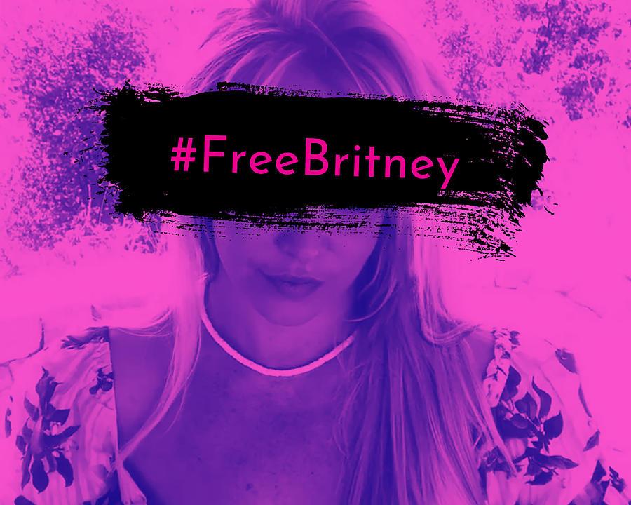 Free Britney Digital Art