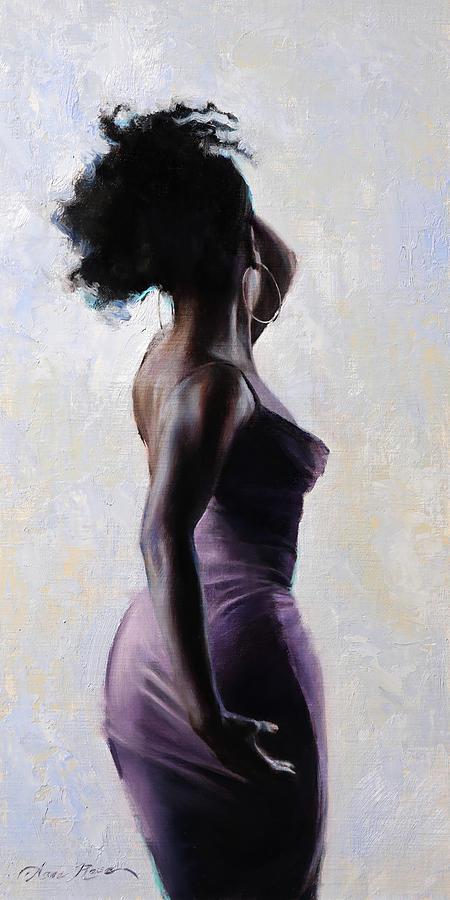 Gogo Painting - Free Spirit by Anna Rose Bain