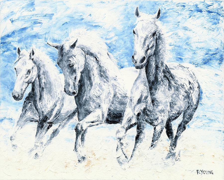 Free Spirits Painting