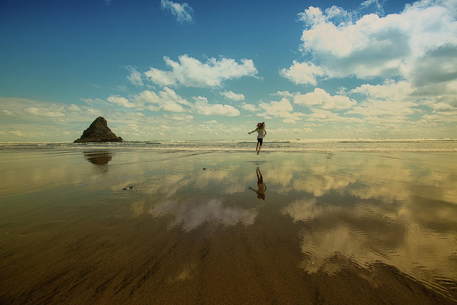 New Zealand Photograph - Freedom by Mimo Khair