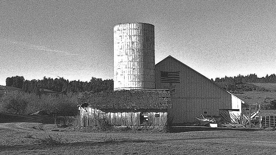 Farmhouse Photograph - Freestone California by D Patrick Miller