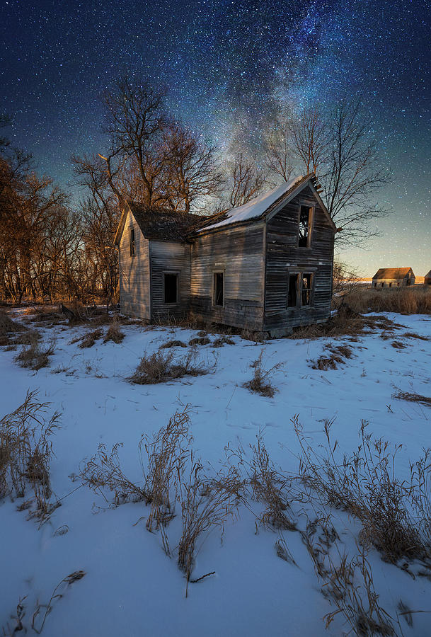 Snow Photograph - Freeze Time by Aaron J Groen