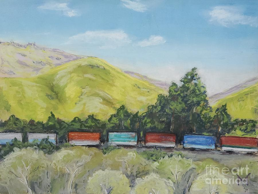 Freight Train by Maria Langgle