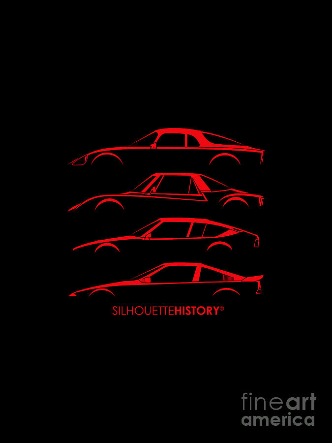 French Mid-engine SilhouetteHistory by Gabor Vida