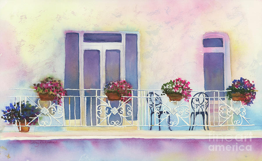 Fresh Winds Balcony Painting