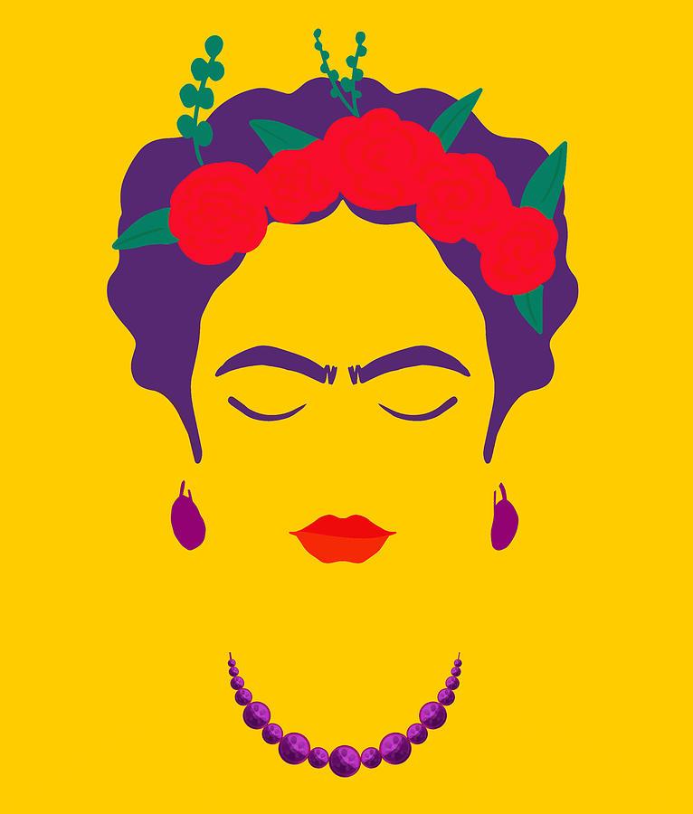 Frida Kahlo Abstract Surreal Painting