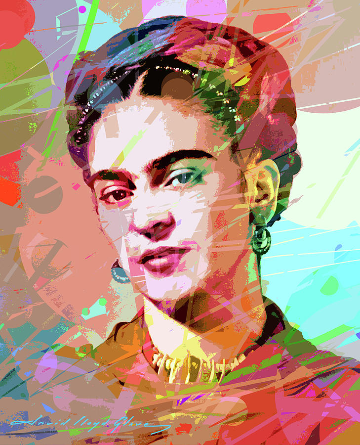 FRIDA KAHLO by David Lloyd Glover