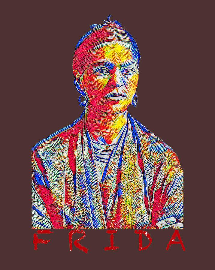 Frida Kahlo T-shirt Design Photograph