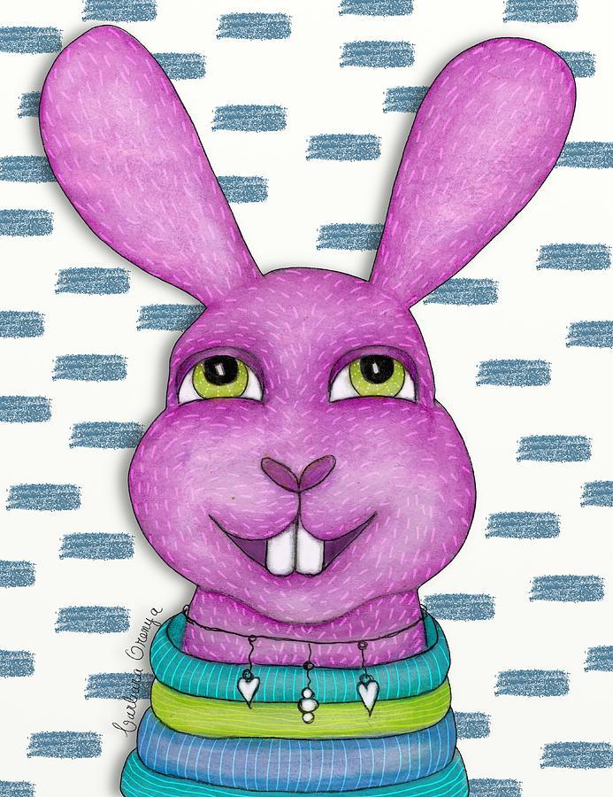 Frisky Bunny by Barbara Orenya