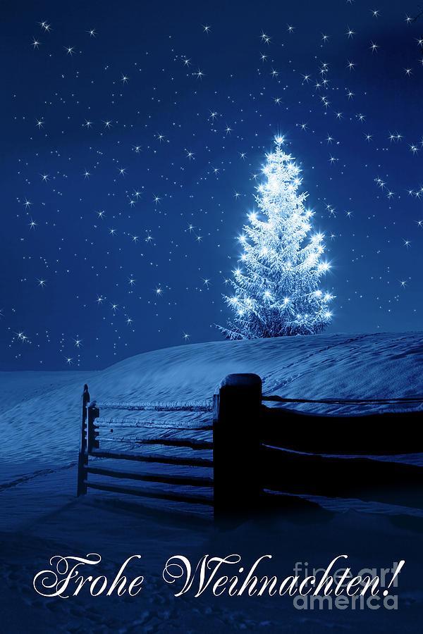 Frohe Weihnachten by Fabian Roessler