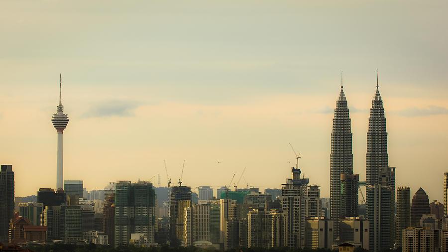From Kuala Lumpur with love Photograph by Shaifulzamri