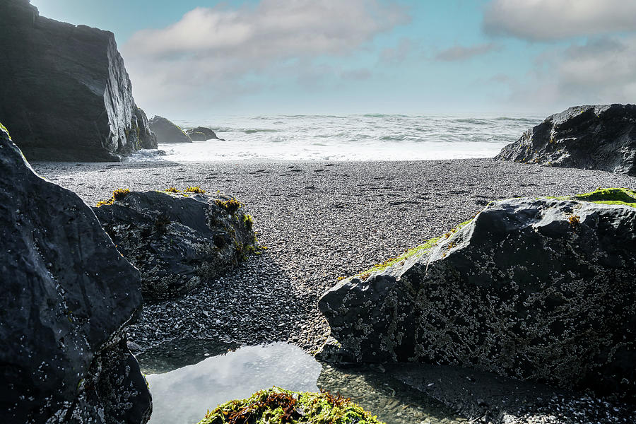 Sea Photograph - From The Rocks by Ric Schafer