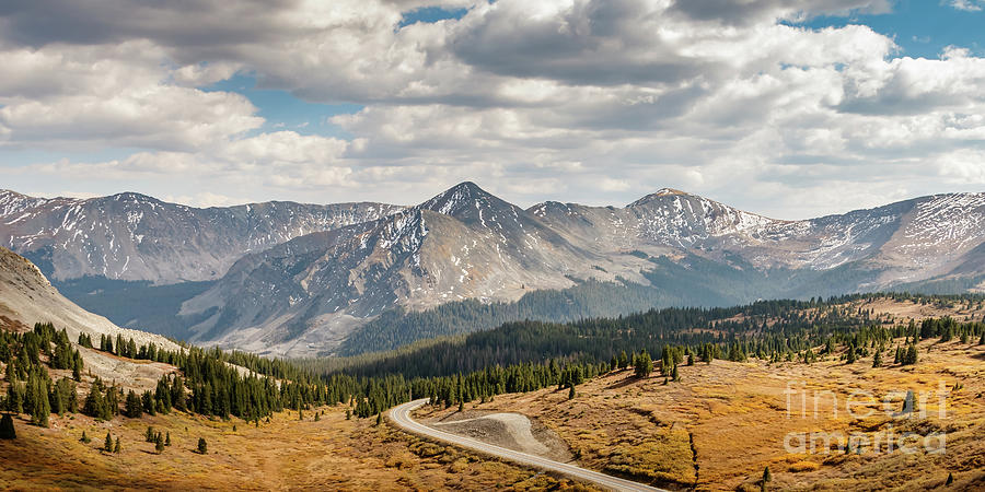From The Top Of Cottonwood Pass, Colorado, Usa Photograph