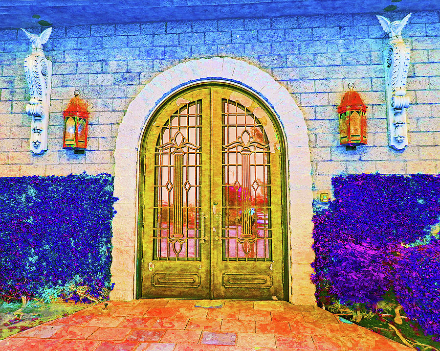 Front Door To The Castle by Andrew Lawrence