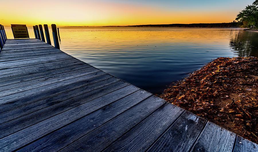 Frosty Dock by Joe Holley