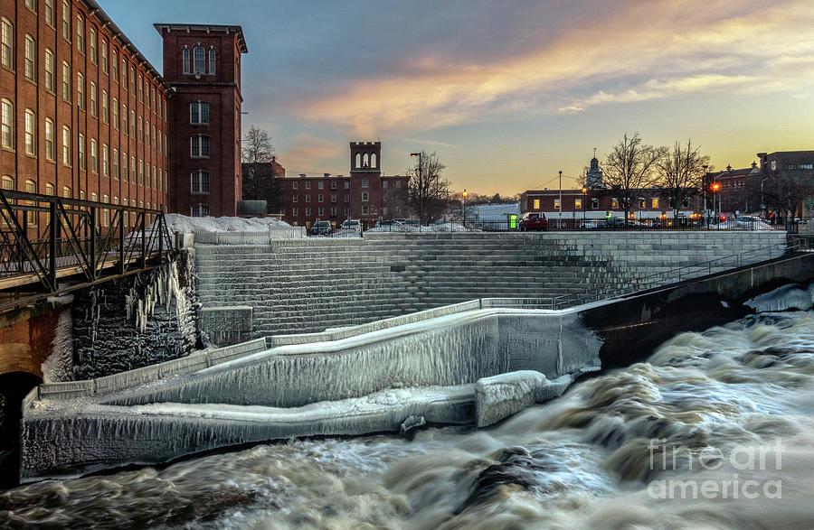 Frozen Mill Photograph