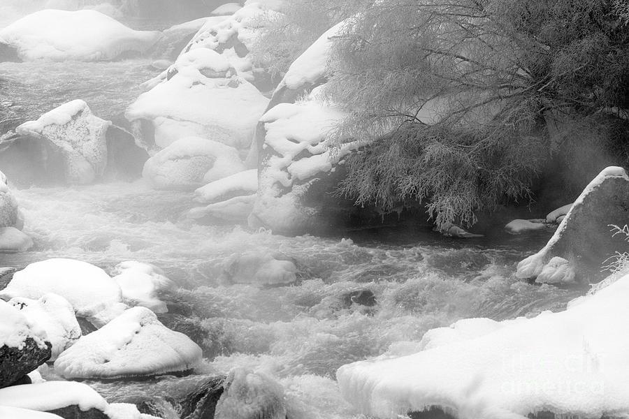 Frozen Platte River Photograph