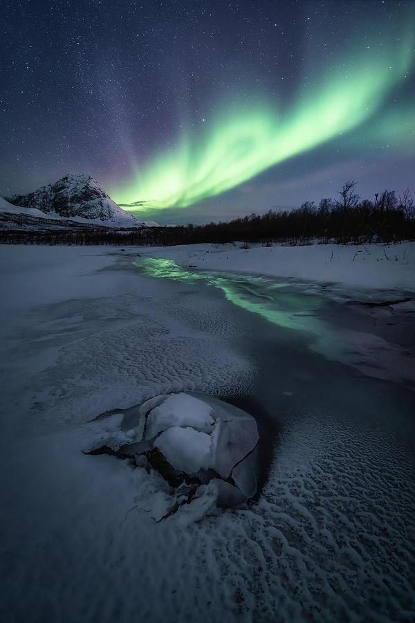 Frozen Photograph - Frozen by Tor-Ivar Naess