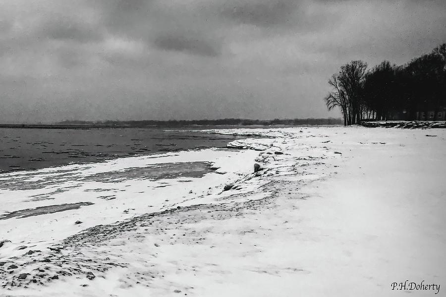 Frozenshoreline Photograph