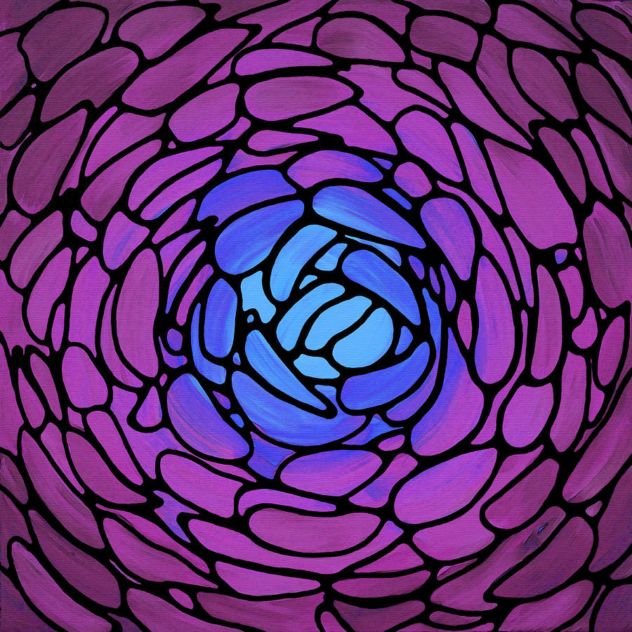 Fuchsia Painting - Fuchsia Petals - Modern Flower Floral Art - Sharon Cummings by Sharon Cummings