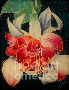 Fucshia Painting - Fucshia 2 by Francine Dufour Jones