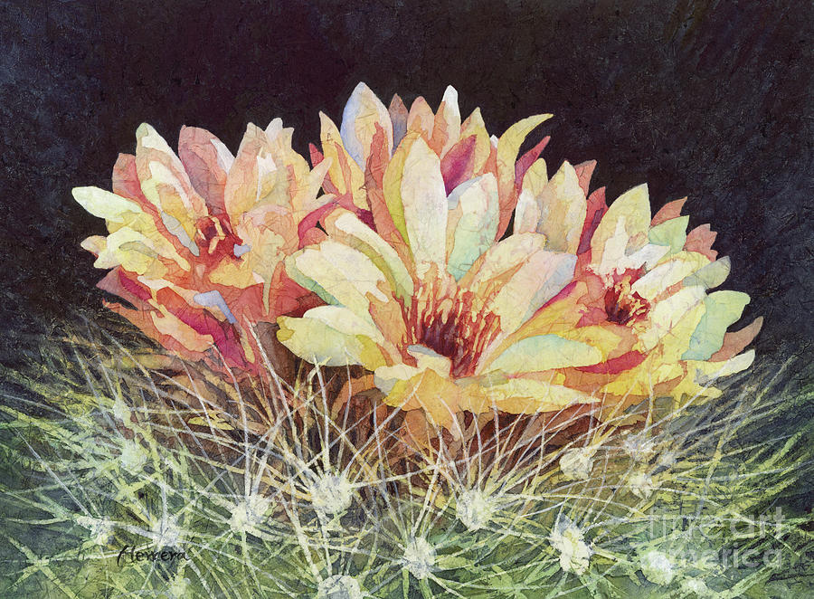 Full Bloom-pastel Colors Painting