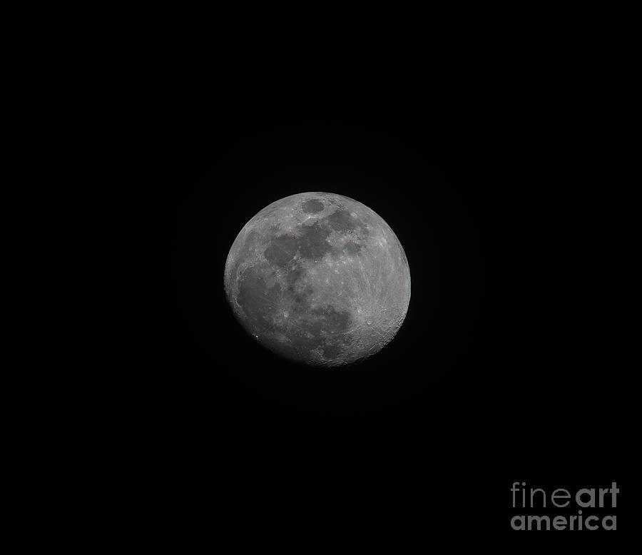 Full Moon - Moon And Sky Photograph