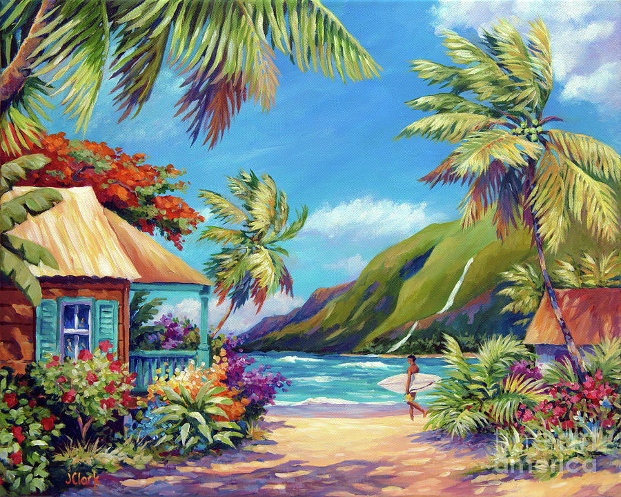 Kauai Painting - Fun Day Ahead by John Clark