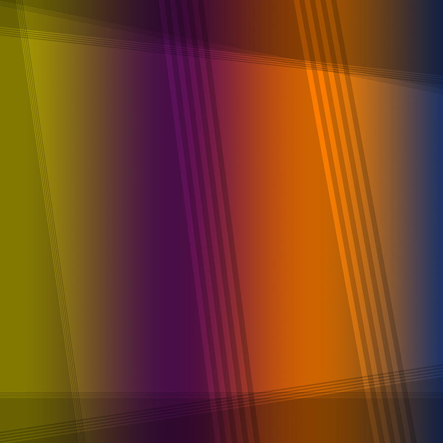 Fun with Colors Abstract Mirrors by Jenny Rainbow
