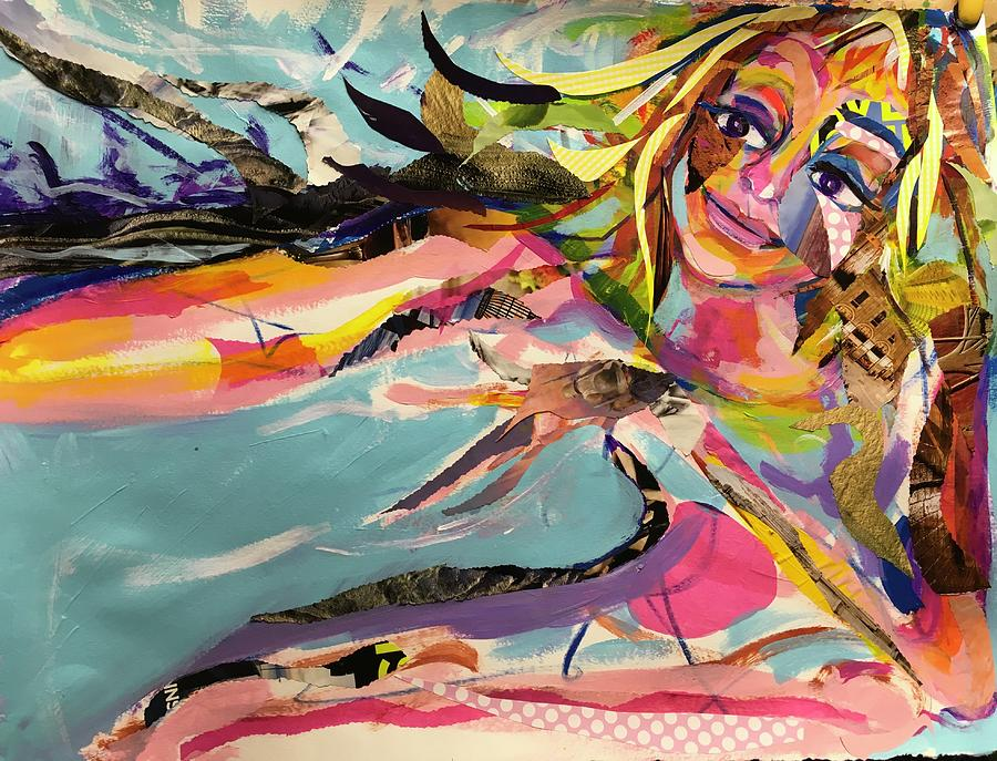 Abstract Painting - Funky Dream by Amy Casteel