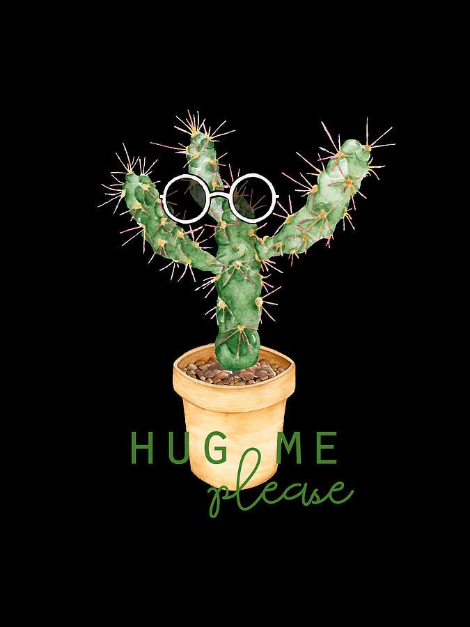 Funny Cactus Digital Art