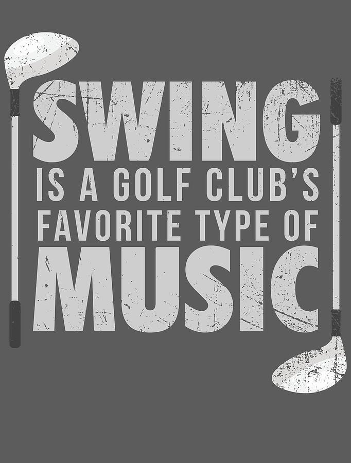 Funny Golf For Men Women Kids Golfer Club Hobby Player Digital Art By Crazy Squirrel